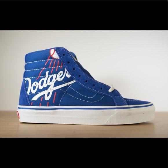 84aa6b8e1aae Vans Sk8 Hi Los Angeles Dodgers Blue Unisex LA